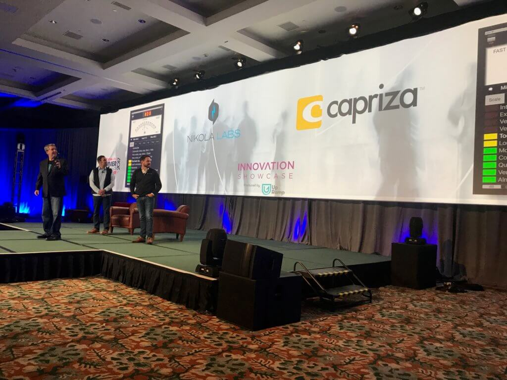 Capriza is the crowd favorite of Innovation Showcase
