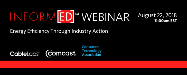 Inform[ED] Webinar: Energy Efficiency Through Industry Action