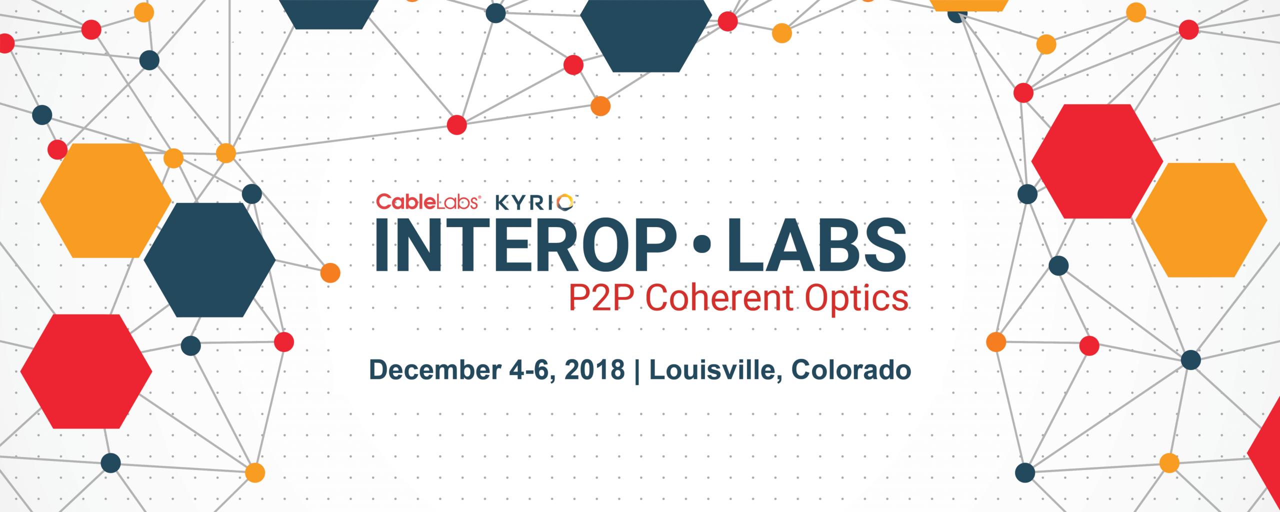 Interop·Labs: P2P Coherent Optics December 2018