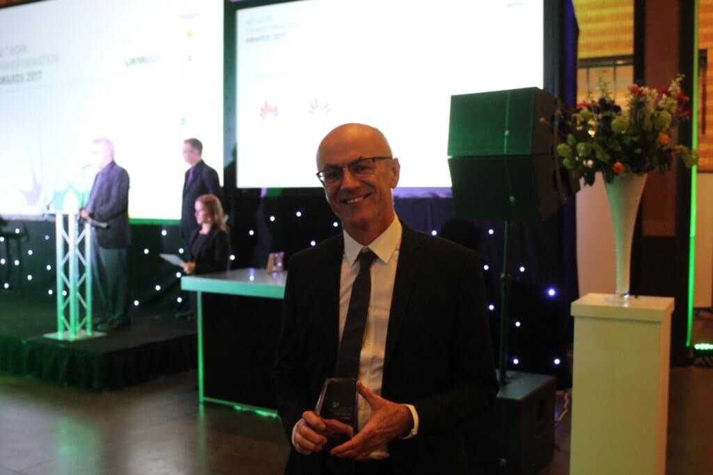 Don Clarke Wins Layer123 Network Transformation Award